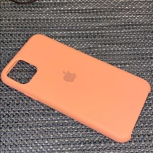 iPhone 11 Pro Max Silicone Case Peach